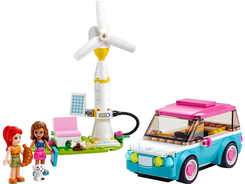 LEGO Friends - Olivia a její elektromobil