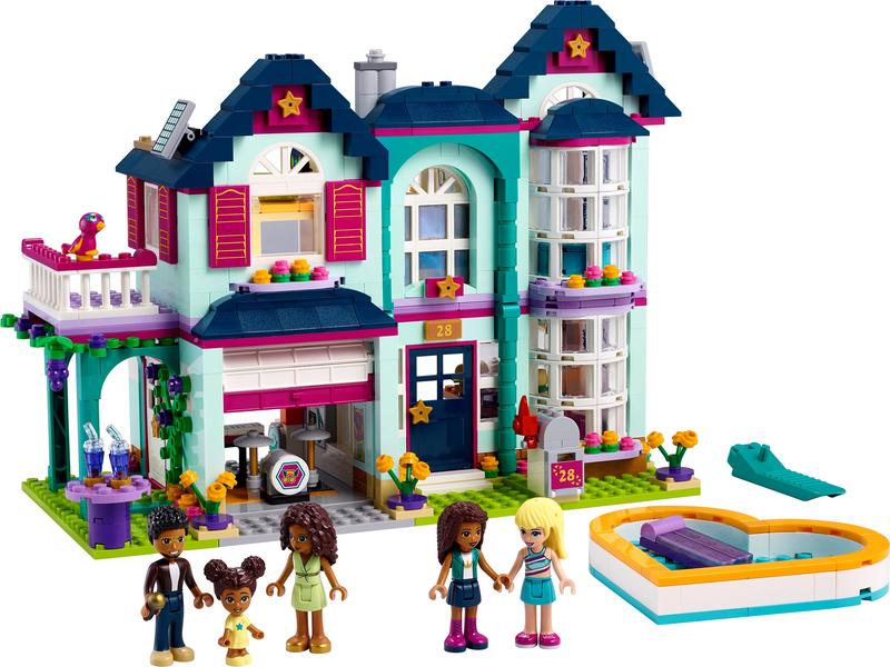 LEGO Friends - Andrea a její rodinný dům