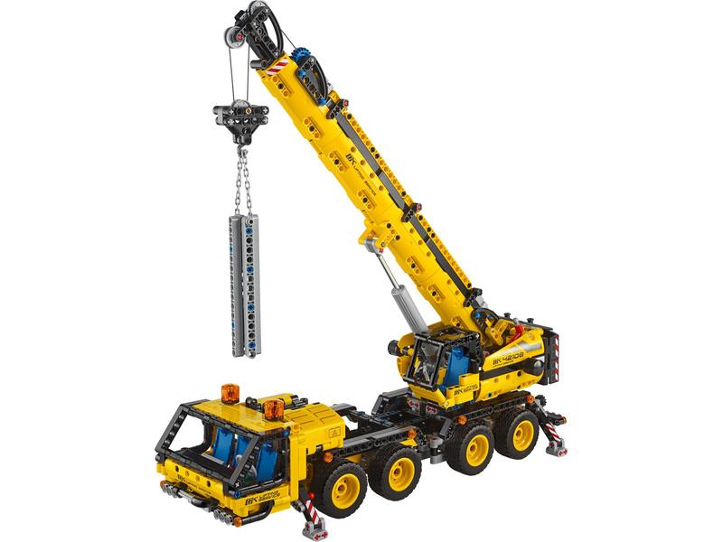 LEGO Technic - Pojízdný jeřáb