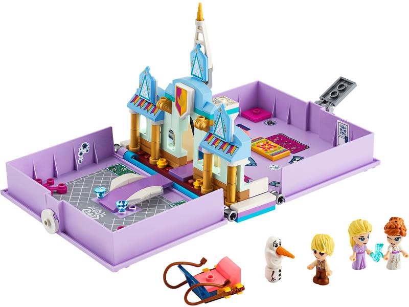 LEGO Disney - Anna a Elsa a jejich pohádková kniha dobrodružství
