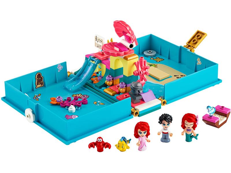 LEGO Disney - Ariel a její pohádková kniha dobrodružství