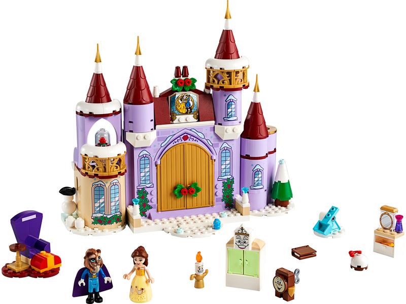 LEGO Disney - Bella a zimní oslava na zámku