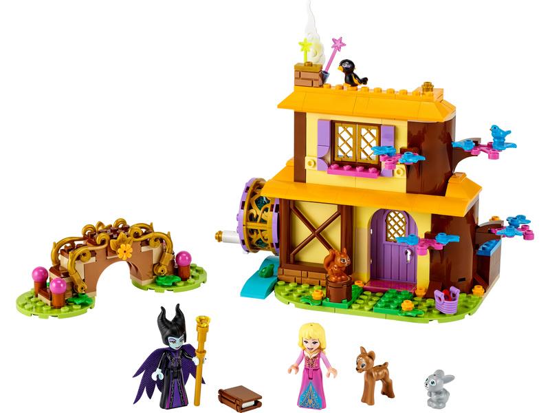 LEGO Disney - Šípková Růženka a lesní chaloupka
