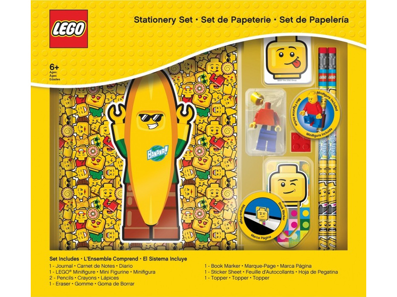 LEGO stationery set s deníkem a náplní - Iconic