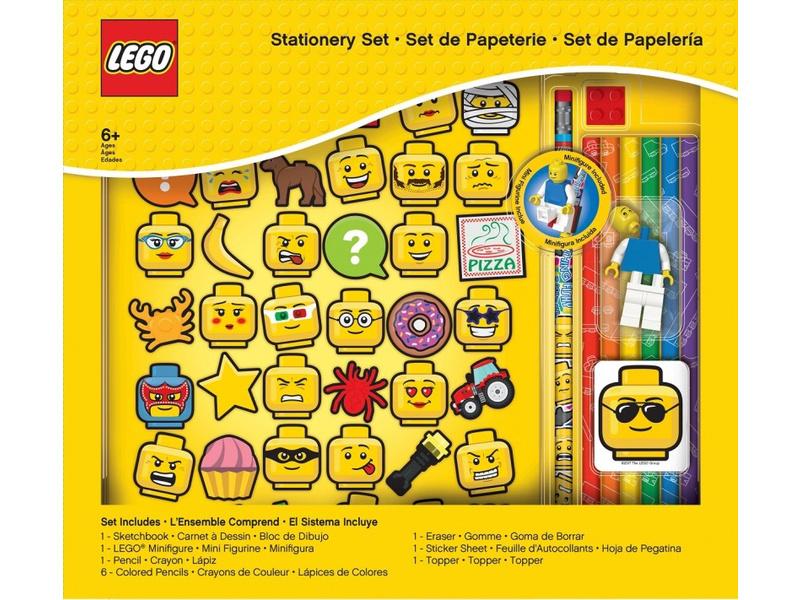 LEGO stationery Set se zápisníkem a náplní - Iconic