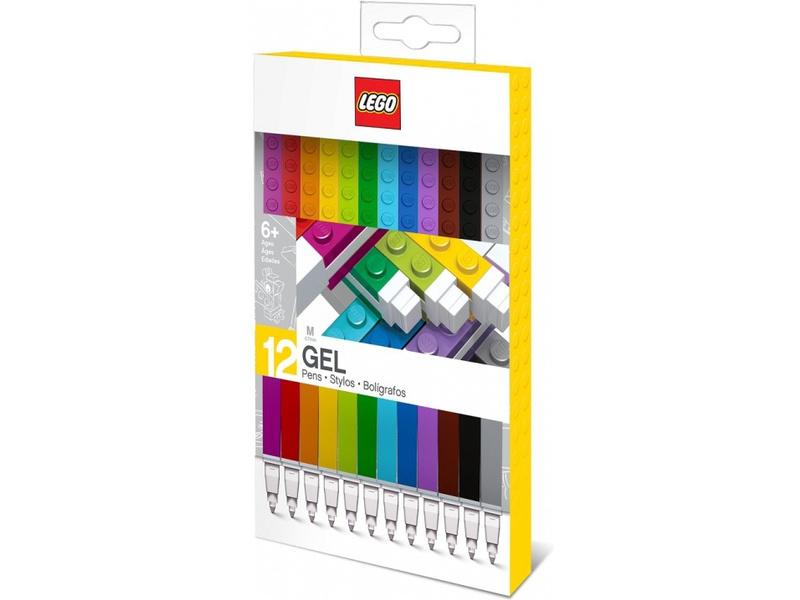 LEGO gelová pera 12ks