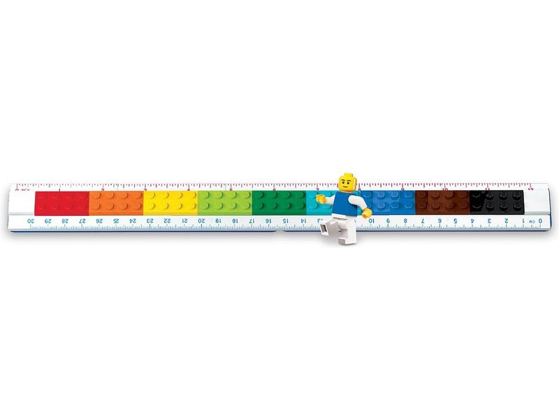 LEGO pravítko 30cm s minifigurkou