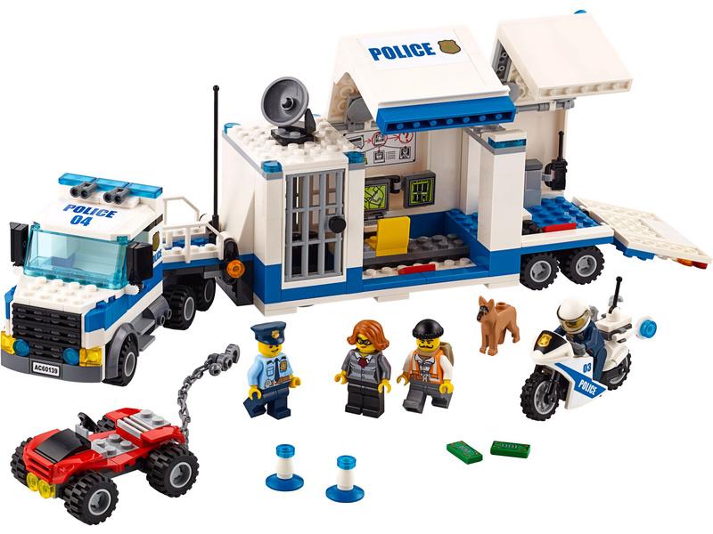 LEGO City - Mobilní velitelské centrum