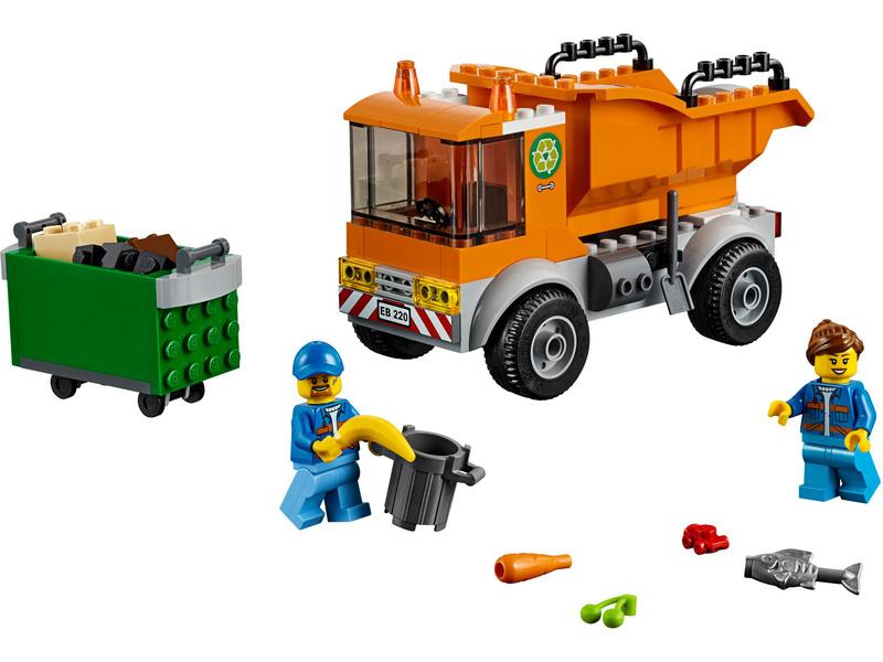 LEGO City - Popelářské auto