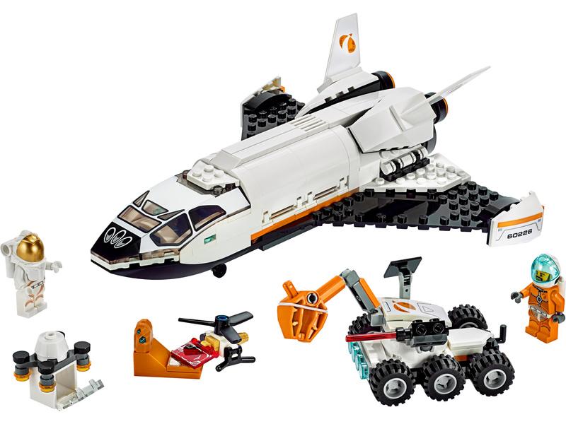 LEGO City - Raketoplán zkoumající Mars