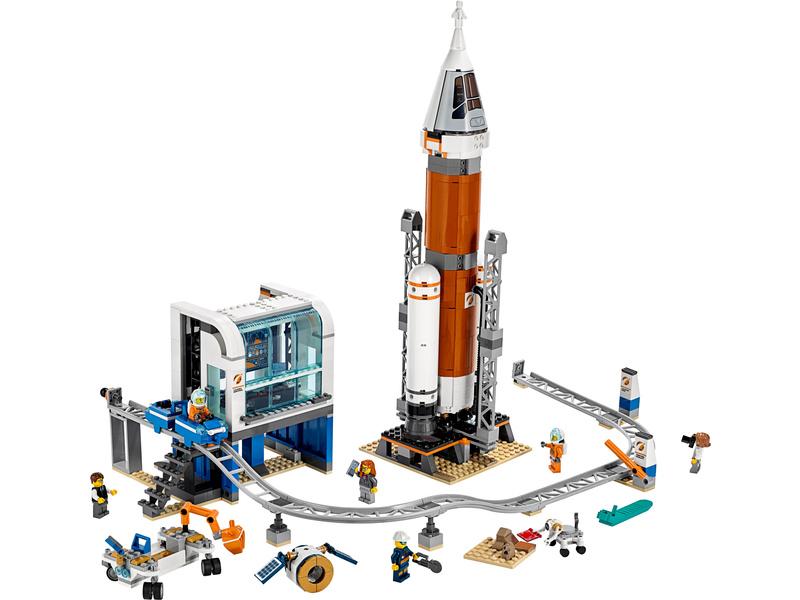 LEGO City - Start vesmírné rakety
