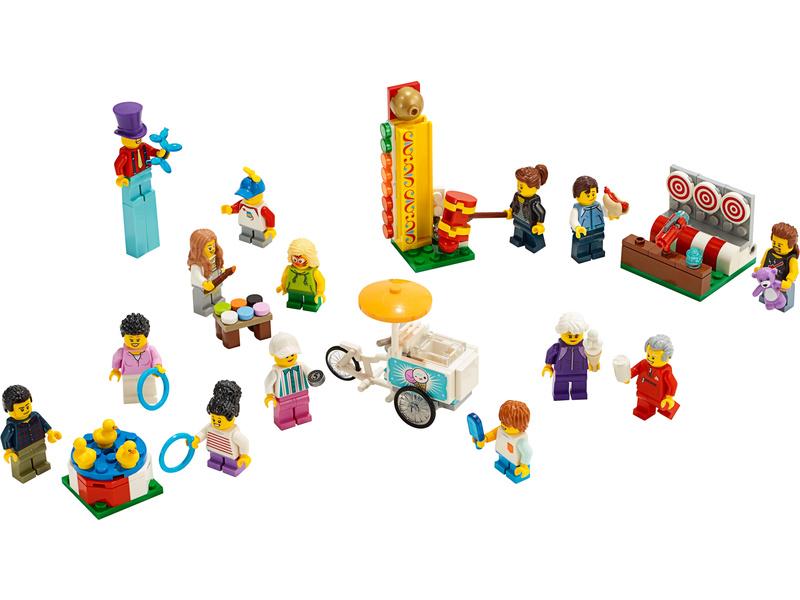 LEGO City - Sada postav – Zábavná pouť