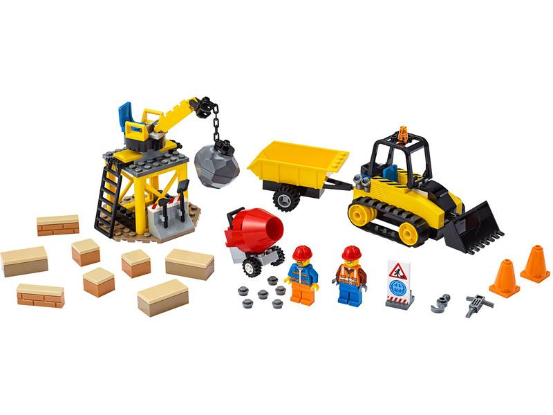 LEGO City - Buldozer na staveništi