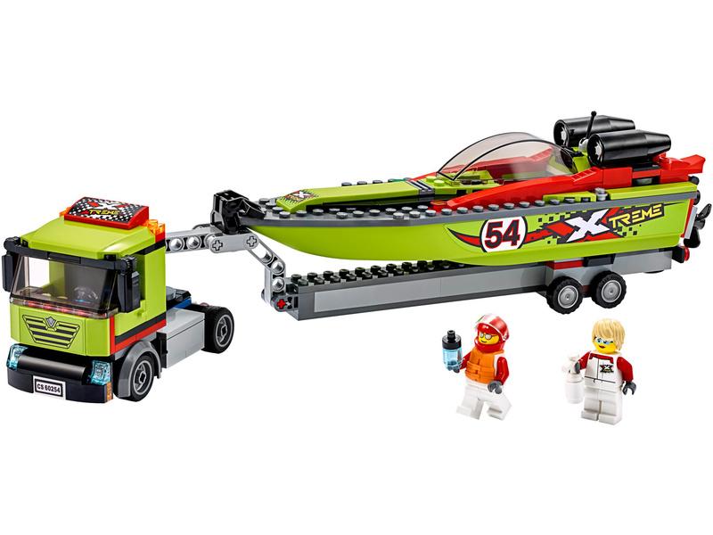 LEGO City - Přeprava závodního člunu