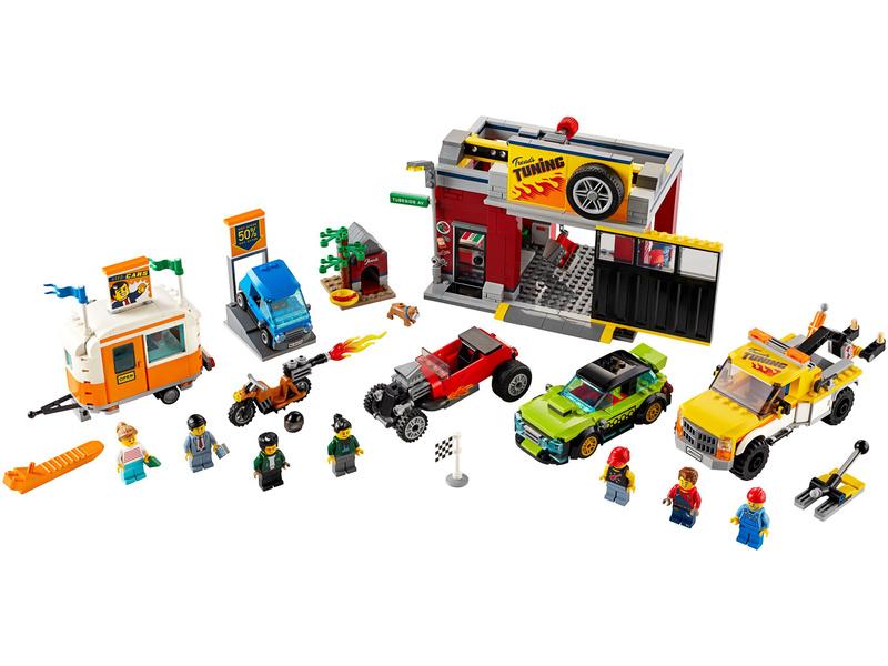LEGO City - Tuningová dílna