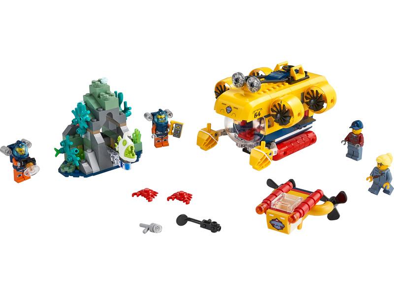 LEGO City - Oceánská průzkumná ponorka