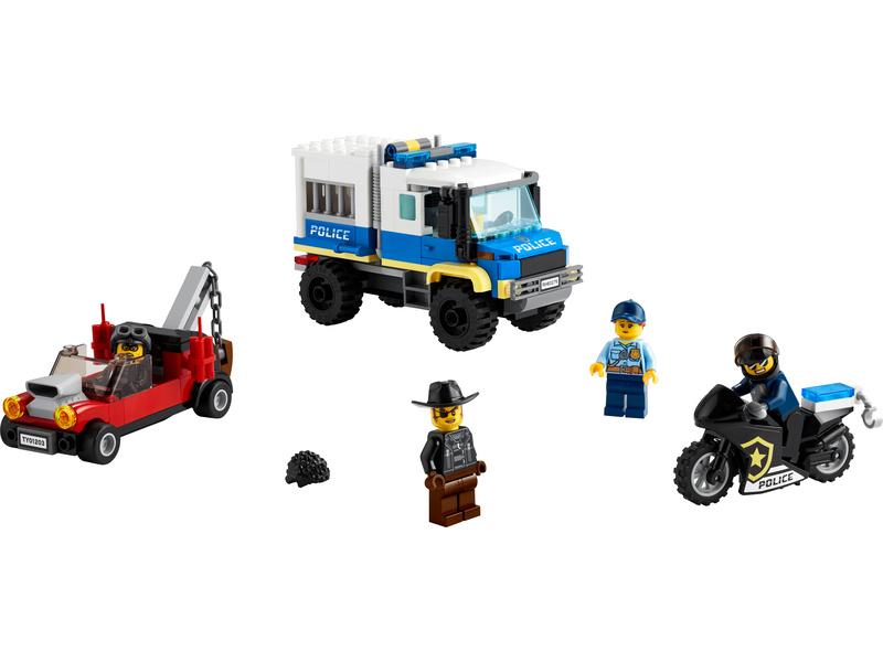 LEGO City - Vězeňský transport