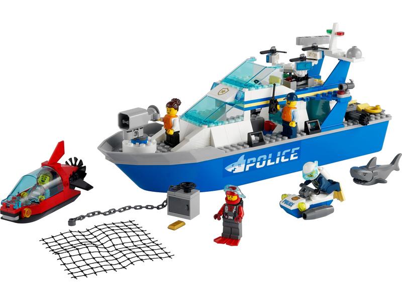 LEGO City - Policejní hlídková loď