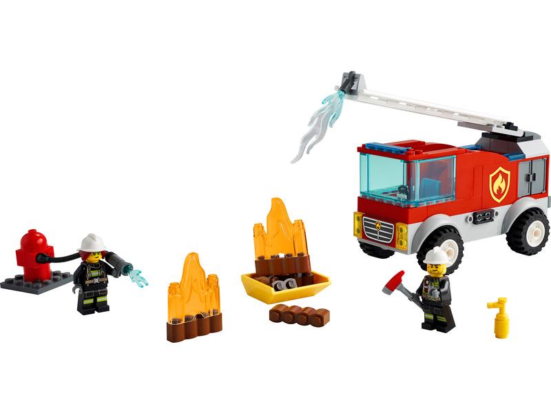 LEGO City - Hasičské auto s žebříkem