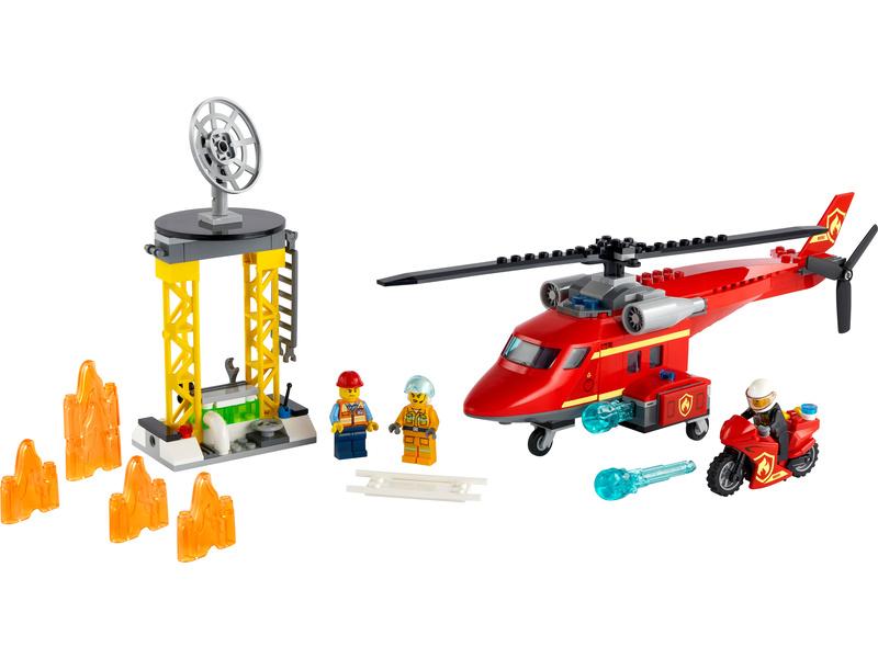 LEGO City - Hasičský záchranný vrtulník