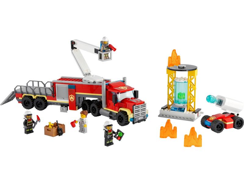 LEGO City - Velitelská jednotka hasičů