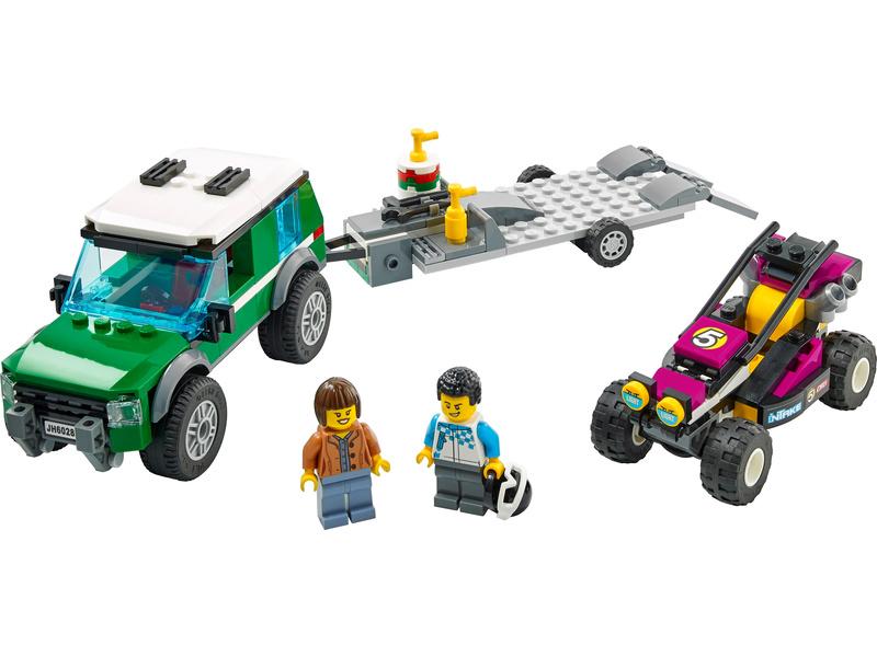 LEGO City - Transport závodní buginy