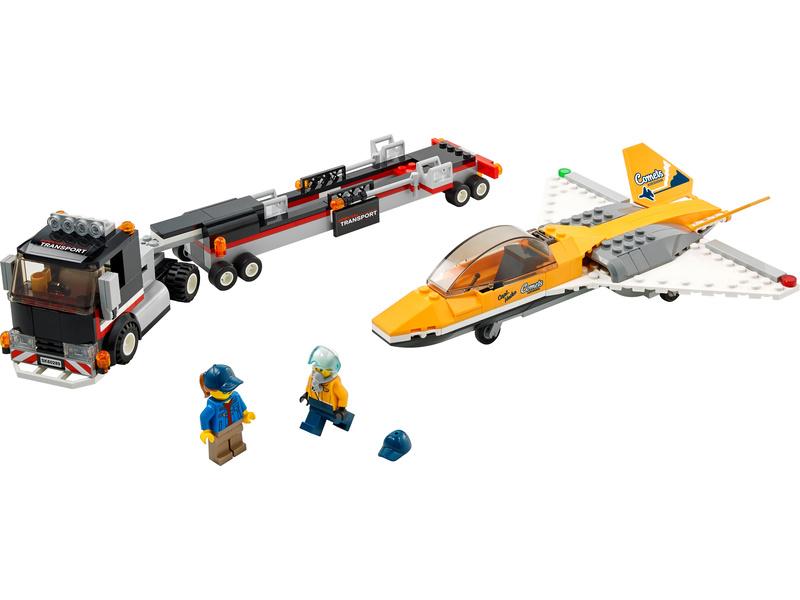 LEGO City - Transport akrobatického letounu