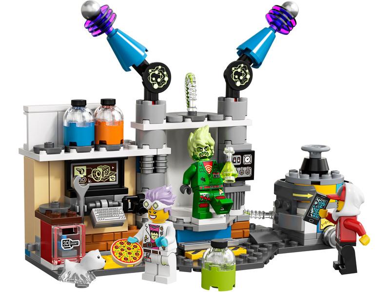 LEGO Hidden Side - J. B. a jeho laboratoř plná duchů