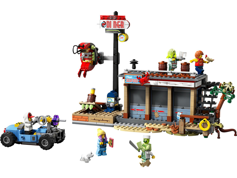 LEGO Hidden Side - Útok na stánek s krevetami