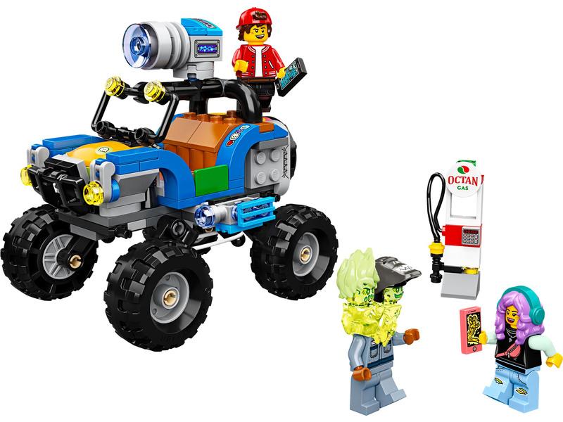 LEGO Hidden Side - Jack a plážová bugina
