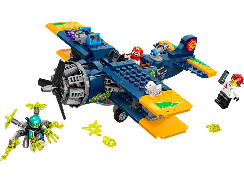LEGO Hidden Side - El Fuegovo kaskadérské letadlo