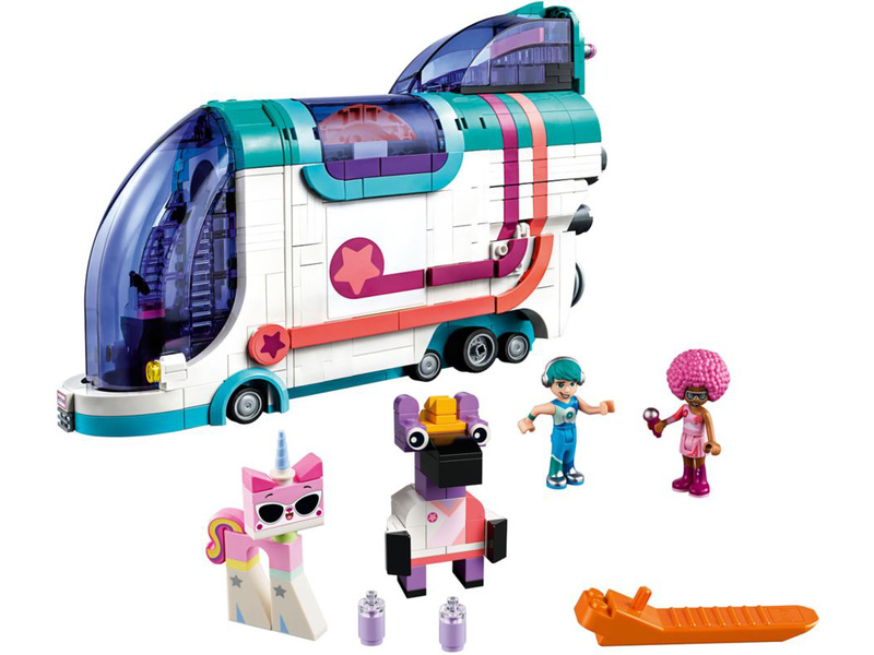 LEGO Movie - Vyklápěcí party autobus
