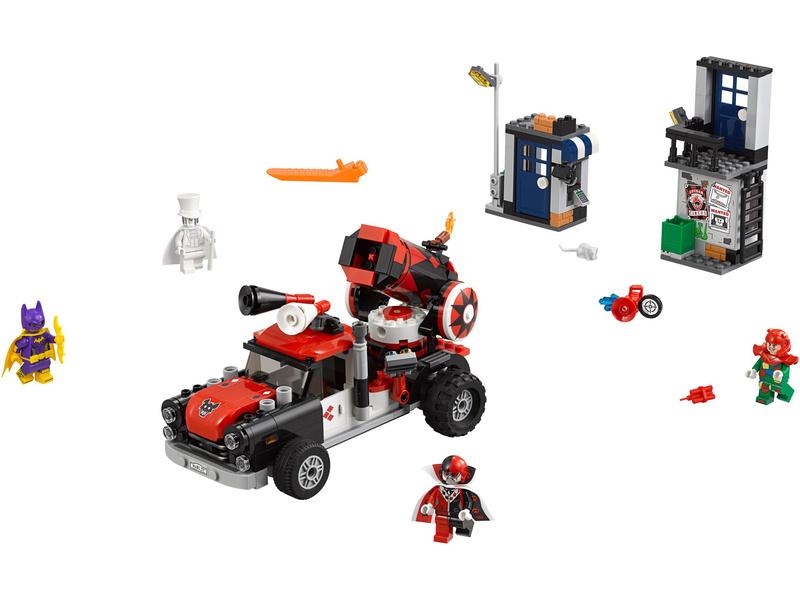 LEGO Batman Movie - Harley Quinn a útok dělovou koulí