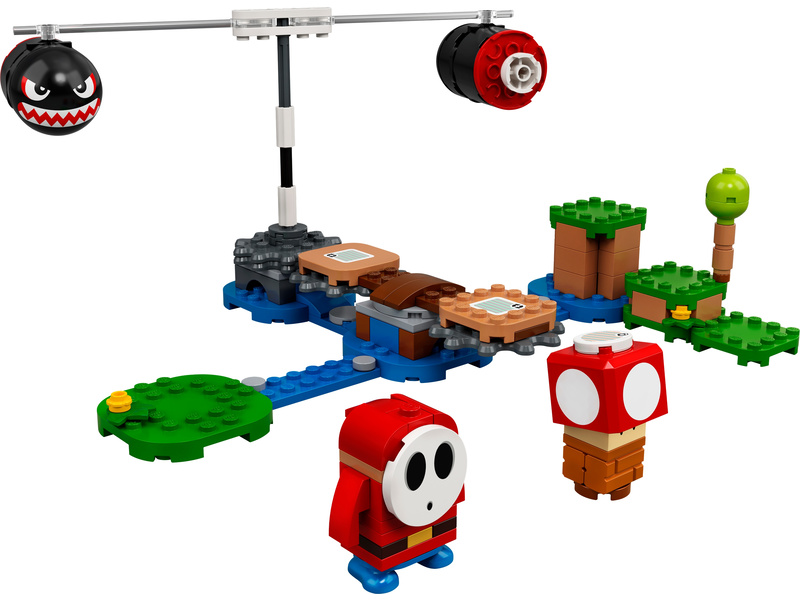 LEGO Super Mario - Palba Boomer Billa – rozšiřující set