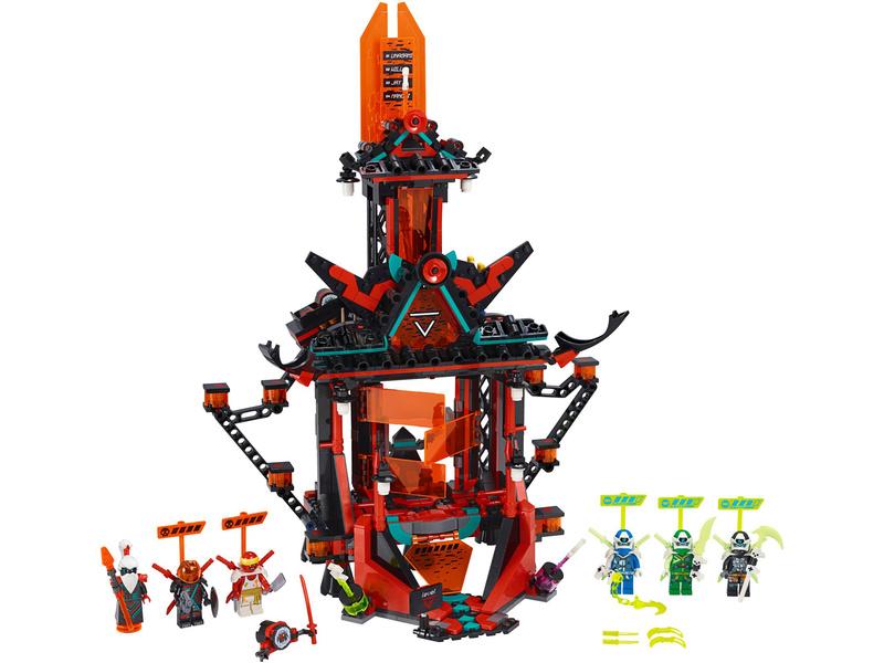 LEGO Ninjago - Chrám císaře bláznovství