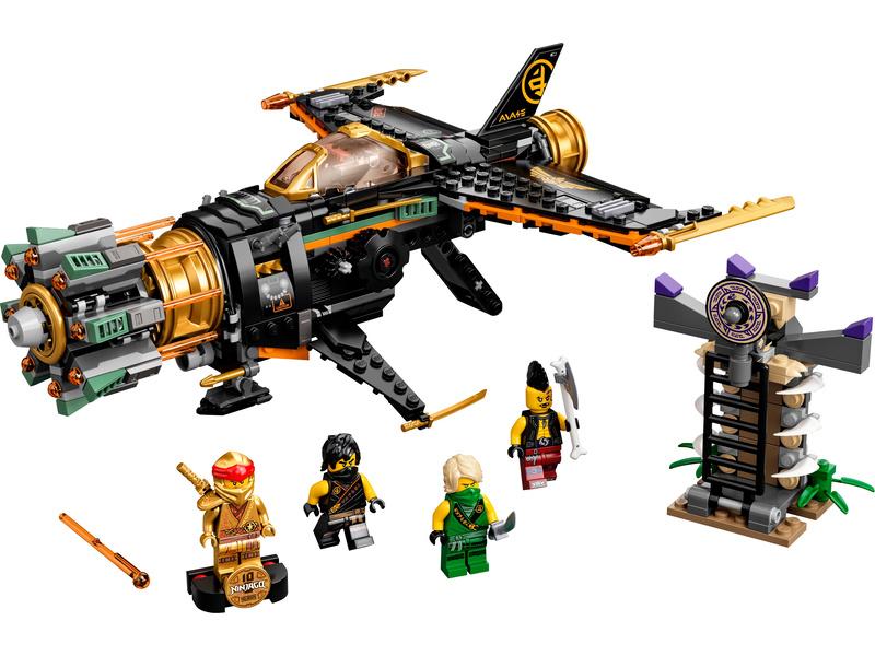 LEGO Ninjago - Odstřelovač balvanů