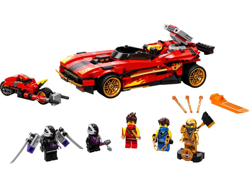 LEGO Ninjago - Kaiův červený bourák