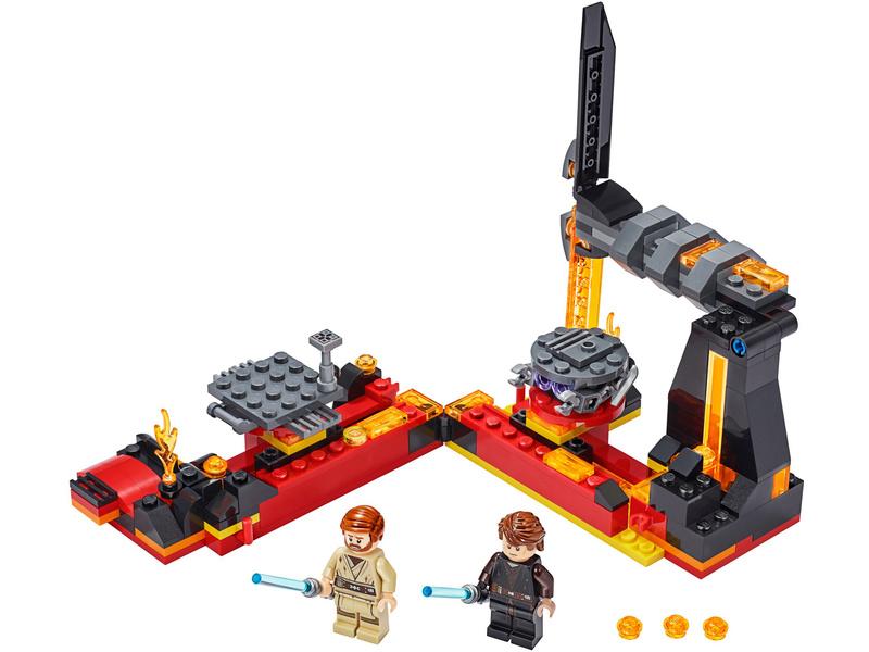 LEGO Star Wars - Duel na planetě Mustafar