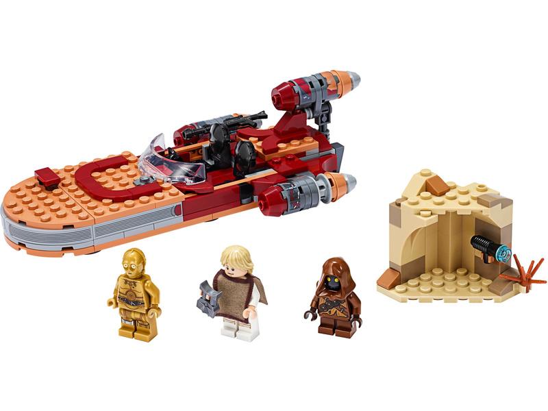 LEGO Star Wars - Pozemní spídr Luka Skywalkera