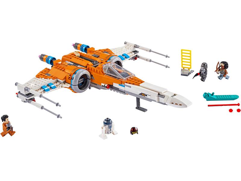LEGO Star Wars - Stíhačka X-wing Poe Damerona