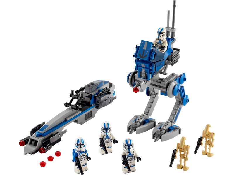 LEGO Star Wars - Klonoví vojáci z 501. legie