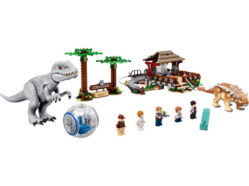 LEGO Jurský Park - Indominus rex vs. ankylosaurus