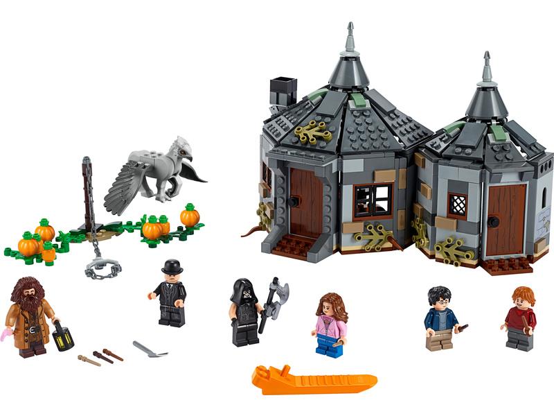 LEGO Harry Potter - Hagridova bouda: Záchrana Klofana