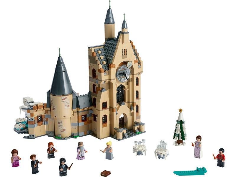 LEGO Harry Potter - Hodinová věž v Bradavicích