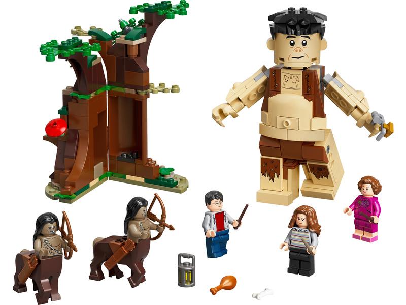 LEGO Harry Potter - Zapovězený les: Setkání Drápa a profesorky Umbridgeové
