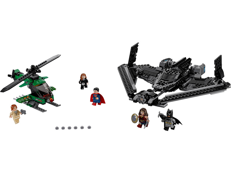 LEGO Super Heroes - Hrdinové spravedlnosti: souboj vysoko v oblacích