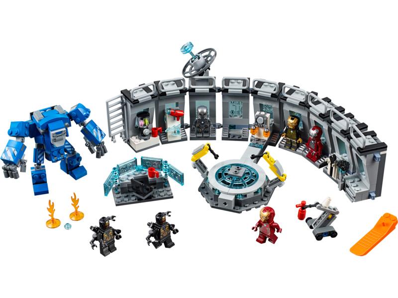 LEGO Avengers - Iron Man a jeho obleky
