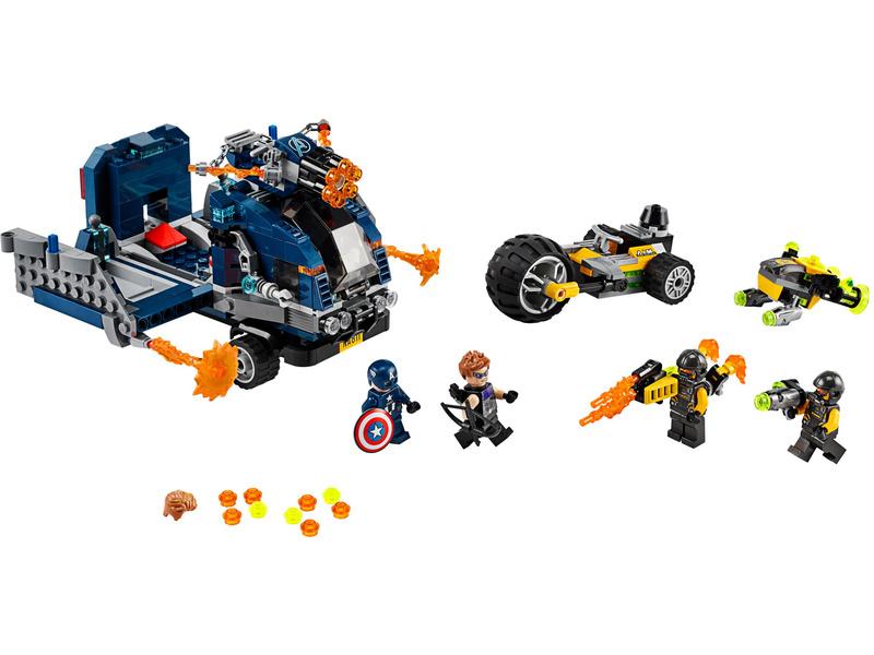 LEGO Avengers - Boj o náklaďák