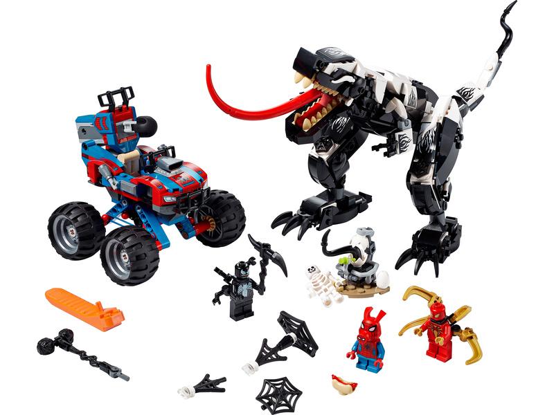 LEGO Super Heroes - Léčka na Venomosaura