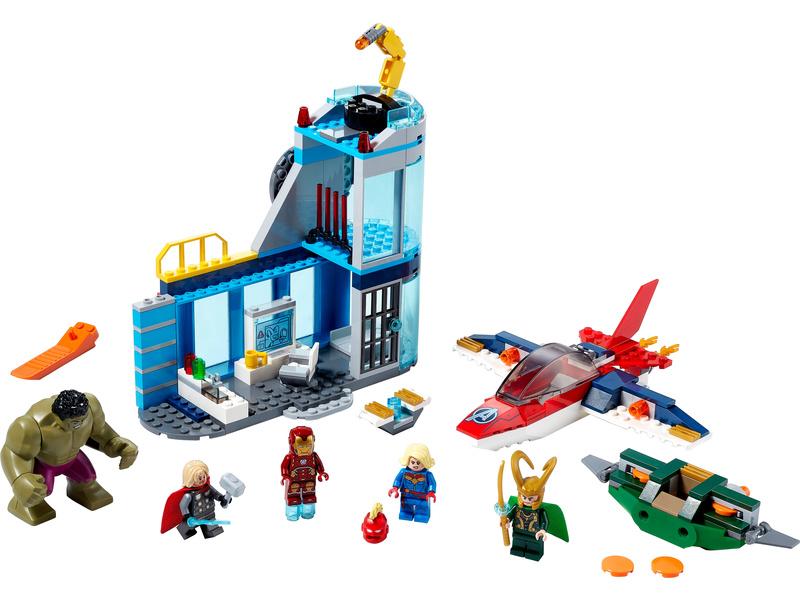 LEGO Super Heroes - Avengers – Lokiho hněv